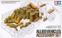 allied vehicles - Models Building Toy Model Building Kits Tamiya Military Model Kit Allied Vehicles Equipments Accessory Set