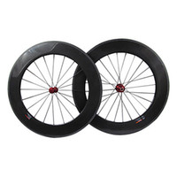 Wholesale Full Carbon Fiber mm tubular Road Bike Wheels Brand cycle Rim holes R13 Hub