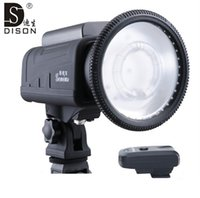 wholesale nikon - Dison X W outdoor studio flash light for nikon and canon with flash trigger