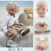 Wholesale Soft Reborn Toddler Doll Kits Blank DIY Reborn Baby Doll Fridolin Accessories For inches Baby Dolls