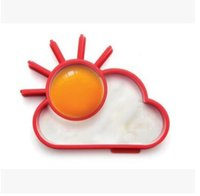Wholesale Silicone Fried Egg Mold Breakfast for Creative Silicone Cute Sun Cloud Egg Mold Fried Egg Mold Pancake Mold Kids Diy Cooking Tools