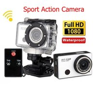 Wholesale Gopro Hero3 Style WDV5000 Action Camera Wifi Camera Wifi Control P Full HD IR Remote Control Waterproof Sport Camera WiFi DV Camcorder