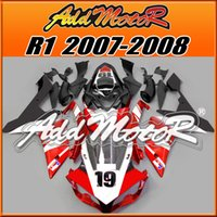 fairing r1 - Addmotor Injection Mold Fairing For Yamaha YZF R1 YZF R1 Red White Black Y1752 Free Gifts