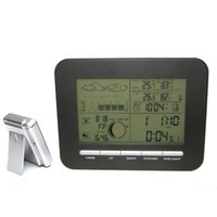 Cheap Digital Wireless Weather Station Clock With Barometer,Temperature Thermometer&Humidity Hygrometer Home Weather Station InOutdoor