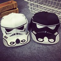baseball christmas gifts - DHL Star Wars snapback baseball caps Darth Vader Stormtrooper ball cap hats christmas gift short caps