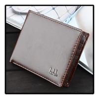 Wholesale 2015 Holders Vintage Wallets Men s Wallet card holder bag pack case packet package Money coin Purse Purses Wallets For Men