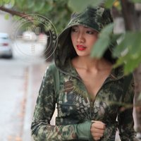 active shooter - PYTHON camouflage female fast drying long sleeved hoodies Rattlesnake shooter special forces breathable Tee T shirt Shirt for Hunting game