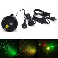 Wholesale Outdoor IP65 Waterproof firefly effect laser projector landscape laser light for christmas trees lawn garden park decoration light DHL