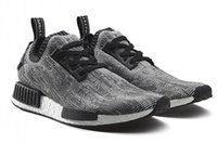 athletic boots women - 20 Off New NMD Runner Grey Black PK Boost Men Women Sports Outdoors Boots Athletic Running Shoes Sneakers With Original Box Size