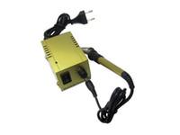 Wholesale Fast Powerful Palm Size Mini Gold Soldering Station V US Plug for SMD SMT DIP Soldering Work Long Life Heater BAKU BK