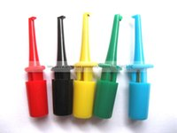 Wholesale 100 Set Small Test Hook Clip for Multimeter Color