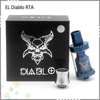 philippines - El Philippines RTA Atomizer Vaporizer Kit Black Silver Blue Colored Rebuildable Dripper Tank Peek Insulator Fit Mods DHL Free