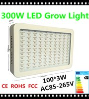 Wholesale 100pcs Epistar W LED W Full Spectrum LED Grow Light Red Blue White UV IR Led Plant Grow Lamps AC85 V year warranty