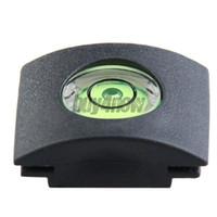 Wholesale New Black Bubble Spirit Level Hot Shoe Cover Cap for Canon Nikon STL