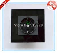 Wholesale China Hilti High Quality Glass Panel EU Standard Wall Power Socket USE For pin plug pin plug ABS fir proofing plastic