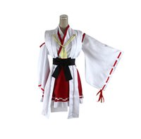 Wholesale Kantai Collection Cosplay Haruna Women s Clothing Halloween Costume Fancy Dress Kimono