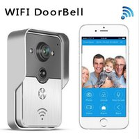 Wholesale for iPad Smart Phone Tablet Wifi video door phone doorbell Wireless Speakerphone Support IOS Android