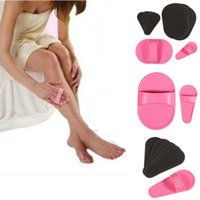 Wholesale Lowest price Fashion Set Pro Smooth Legs Skin Pads Arm Face Upper Lip Hair Removal Remover Exfoliator Epilator Tools Useful Hotting