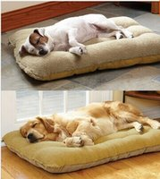 Wholesale New Dog House Soft PP Cotton Pet Beds Dog Products Pet House For Dog Cats Beds Brand Pet House Beds