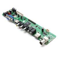 lcd tv parts - Remote Control Parts Accs V59 Universal LCD TV Controller Driver Board PC VGA HDMI USB Interface board skateboard board bmw