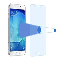 a8000 - Anti Blue Ray MM D Tempered Glass Protective Film For Samsung Galaxy A8 A800 A8000 Membrane Against Screen Protector Film Package