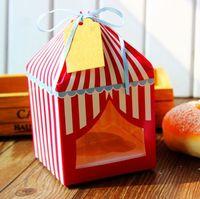 Wholesale Small house Cupcake Boxes Set