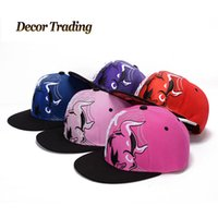 baseball counter - Fashion Brand High Quality Counter Hip Hop Caps Adjustable Baseball Cap Snapback Hat Bull Pattern Men Women Sports Hip Hop Cap