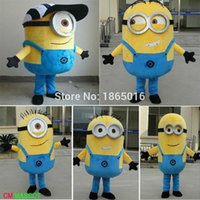 Wholesale china mascot factory Fast Shipping styles Despicable me minion mascot costume for adults mascot costume
