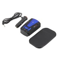 Wholesale 2015 Promotion English Red Blue Motion Detection Car Style set New High Quality Car Anti police Gps Radar Detector Voice Alert Laser V7 Led