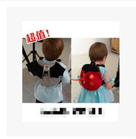 Wholesale Most Popular Ladybird Bat Baby Anti lost Backpack Cute Childern s School Bag Multifunctional Harnesses Leashes
