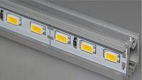 Wholesale 5630 led rigid bar M LED V Hard Strip Bar Light Tiras led licht string quot U quot Style Aluminium Shell CE RoHS