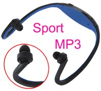 Wholesale Sport MP3 Headset WMA Music Player TF Micro SD Card Slot Wireless Headphone Earphone