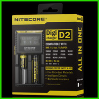 Wholesale Genuine NITECORE D2 Digital Charger Universal Intelligent Charger For Li ion Ni MH battery charger