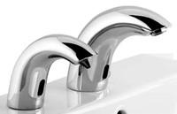 Wholesale 5 star hotel hands washing set public hands cleaning tap soap dispenser set hands washing system