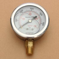 Wholesale New Hydraulic Liquid Filled Pressure Gauge PSI High Quality High Quality