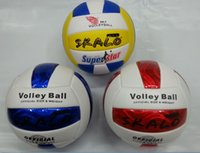 Wholesale L New Arriver Profession Official Game Volleyball Size High Quality Size PU leather Volleyballs Training Ball