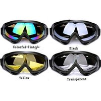 Wholesale cheap X400 UV Protection Outdoor Sports Ski Snowboard Skate Goggles Motorcycle Off Road Cycling Goggle Glasses Eyewear Lens