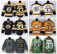 bears uniform - 2015 Cheap Ice Hockey Boston Bruins Zdeno Chara Jersey Third Bear Alternate Black Uniform Chara Bruins Jersey