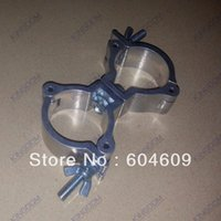 Wholesale 10pcs Stage Tube clamps Quick Coupler Aluminium Polished For pipe Dia to52mm Width mm With Swivel Joint Used For Truss