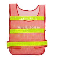 Wholesale trafic Cycling Riding Reflective safety Vest