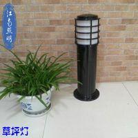 aluminum lattice - Jiangnan Park simple lattice aluminum die lawn lamp lighting residential green landscape Shelf