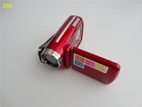 Wholesale 20x Falsh Sale Cheap MP inch Digital Video Camera x Zoom Flash Light DV139 Support Multi language DV