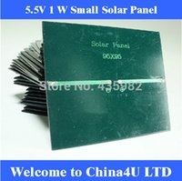 Wholesale 10 V W mA Mini monocrystalline polycrystalline solar Panel small resin solar cell PV module DIY solar Kits