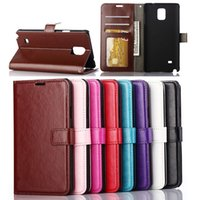 samsung galaxy s4 - Wallet PU Leather Case Cover Pouch with Card Slot Photo Frame Money Pocket for Samsung Galaxy S4 i9500 S5 S6 Note2 Note3 N9000 Note4