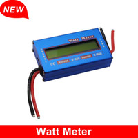 Wholesale New arrival Professional Digital LCD For DC V A Balance Voltage RC Battery Power Analyzer Watt Meter