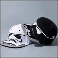 Wholesale Prettybaby Star Wars snapback baseball caps Darth Vader Stormtrooper ball cap hats christmas gift short caps Pt0118