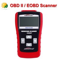 Wholesale 2015 Hot Sale Wholesales Price Auto Code Scanner KONNWEI KW807 OBDII EOBD Code Reader Scanner