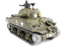 airsoft usa - 1 model rc tank metal remote control Airsoft tank USA M4A3 Sherman Tank
