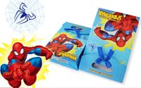 Cheap New arrival birthday party supplies spiderman party paper cartoon gift bags high quality 12pcs lot