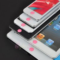 Wholesale iphone S Sexy Red Pink Home Button Sticker Protector Female For Tempered Glass iPhone S iPadipod